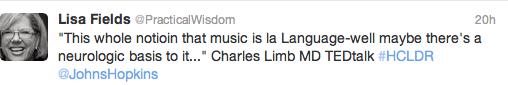 Lisa Music Tweet 6