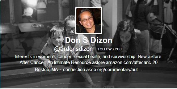 Dr Don S Dizon Twitter Profile