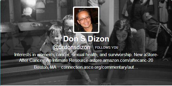Dr Don S Dizon Twitter Profile