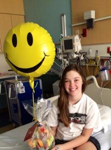 Morgan Gleason as a patient