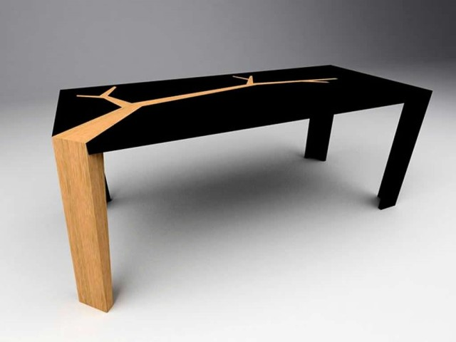 Angkor Table by Olivier Dolle