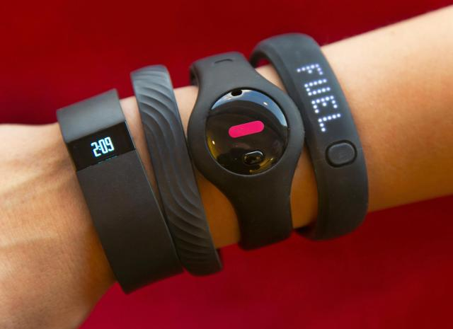 Multiple Fitness Trackers
