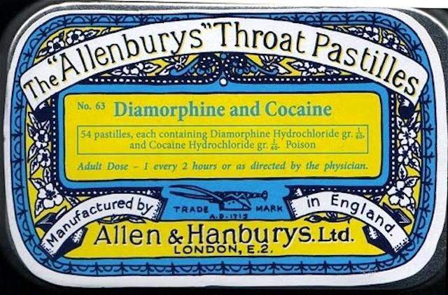 Allenburys Throat Patilles