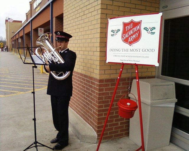 salvation army playing euphonium - j_lai
